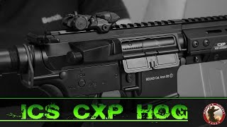 [Review] ICS CXP HOG - SAEG 6mm Airsoft Deutsch/German