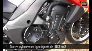 Essai Kawasaki Z1000 2010 - 100% Moteur