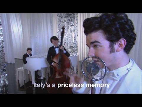 Jonas Brothers - I Left My Heart in Scandinavia KARAOKE (HD)