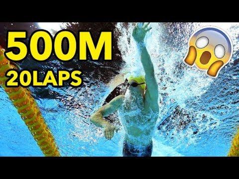 How to Swim 500m Freestyle | 5 Tips + RAW FOOTAGE 🏊