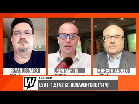 March Madness Picks and Predictions   LSU vs St Bonaventure Betting Preview   March 20