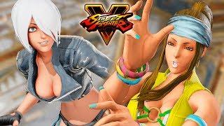 Street Fighter 5 - ANGEL vs ZARINA (KOF 14) Gameplay PC Mod @ 1080p (60ᶠᵖˢ) HD ✔