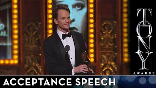 2014 tony awards   neil patrick harris   best performance by an actor in a leading role in a musical