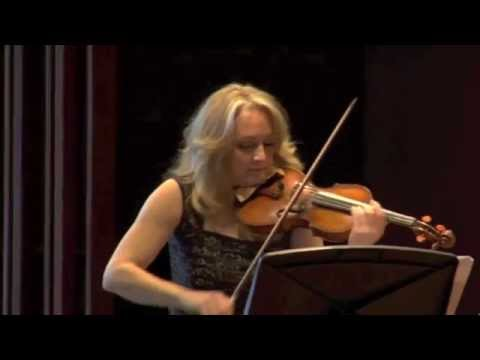 Marie Bérard performing 'Romance' by Amy Beach with Liz Upchurch