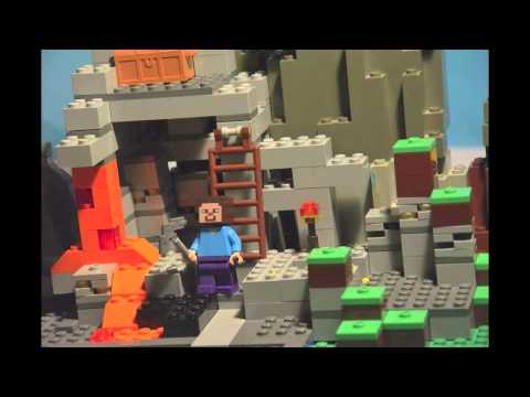 Lego Minecraft mission nether portal - YouTube