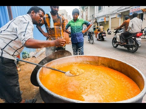 Indian Street Food Tour in Hyderabad, India | Street Food in India BEST Biryani