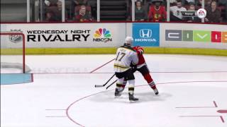 NHL 14 Demo Gameplay All Star Difficulty HS Setting HD
