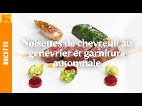 Biggest Cooking Event - Noisettes de chevreuil au genévrier de Lionel Rigolet