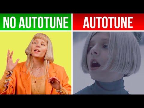 AURORA 'Runaway'   *AUTOTUNE VS NO AUTOTUNE* (Genius)