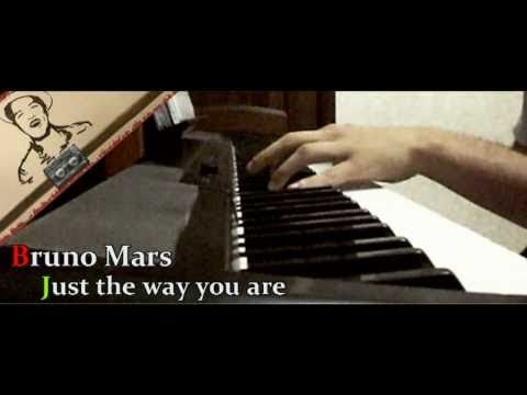 Bruno Mars Just The Way You Are Piano Cover By