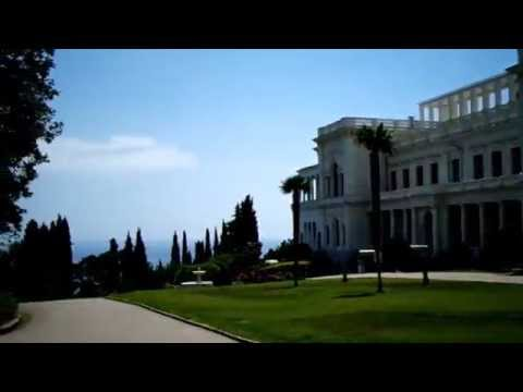 The Livadia Palace tour. Yalta. Crimea.