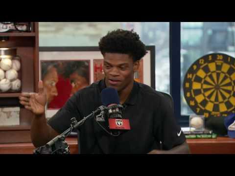 Lamar Jackson on The Dan Patrick Show (Full Interview) 12/12/16