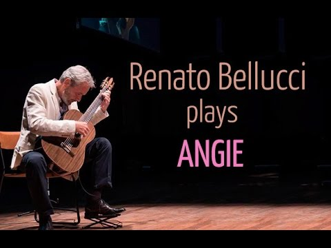 Angie The Rolling Stones For Solo Classical Guitar Youtube