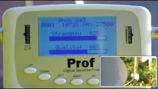 digital satellite finder tuners sf500