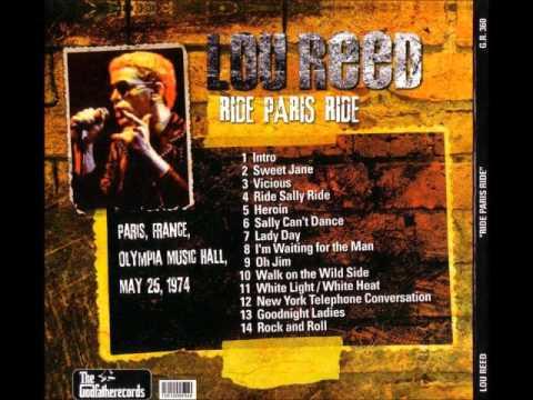 Lou Reed: Ride Paris Ride [Bootleg]
