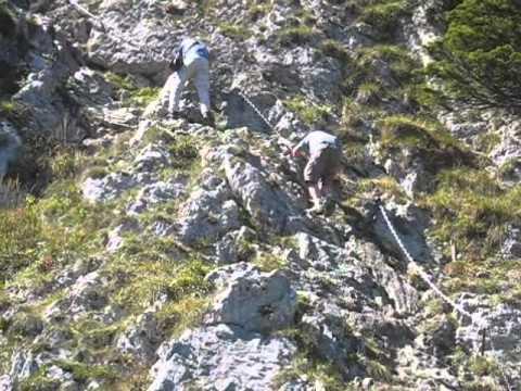 Ettaler Mandl Klettersteig : Ettaler mandl youtube