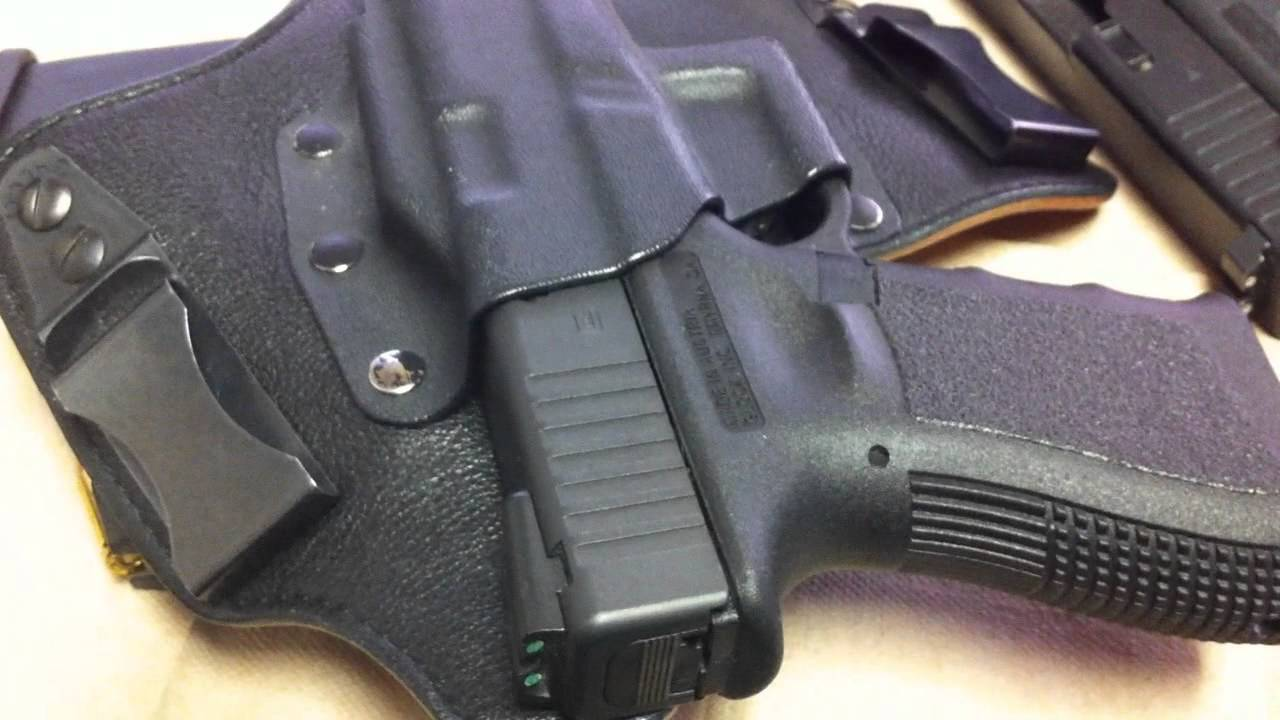 Concealed carry, My new EDC Glock 19. - YouTube