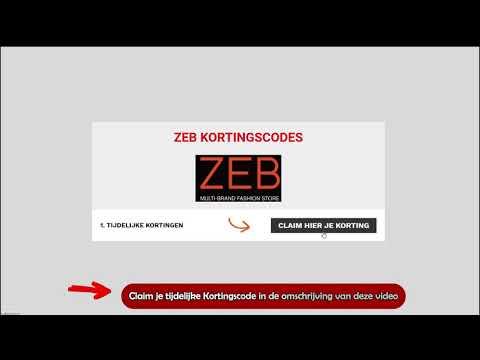 Kortingscode Zeb - Видео онлайн