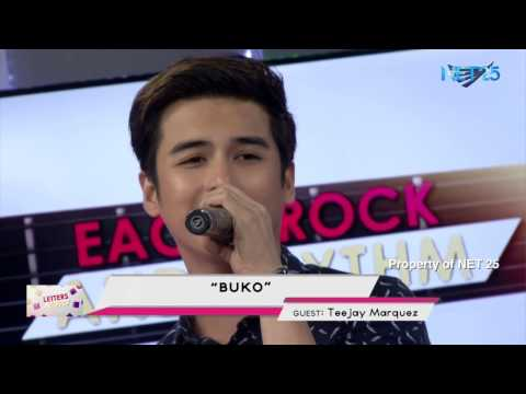 TEEJAY MARQUEZ - BUKO (NET25 LETTERS AND MUSIC)