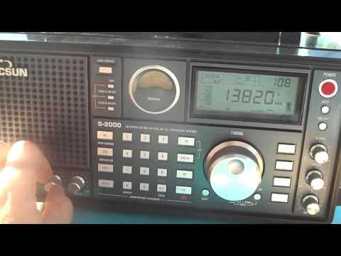 13820 kHz Radio Algeria in Arabic Language