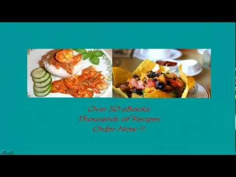Over 50 Cooking Ebooks