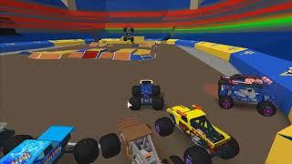 Roblox Monster Jam Commentary #154 (cybergurugaming)