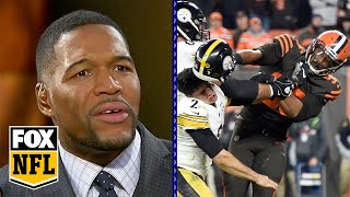 Michael Strahan: Myles Garrett incident 'will not define him' | FOX NFL