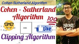 Cohen Sutherland Algorithm (Line Clipping)