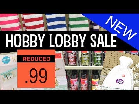 JUMBO Hobby Lobby Clearance Haul