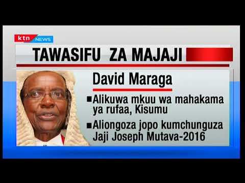 Kivumbi2017: Mdahalo wa uchaguzi; Tawasifu za majaji