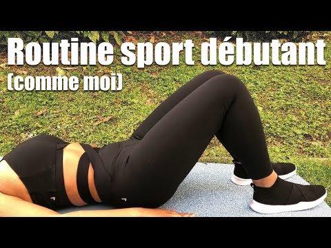 On se met au sport !! (Routine débutant et unboxing )