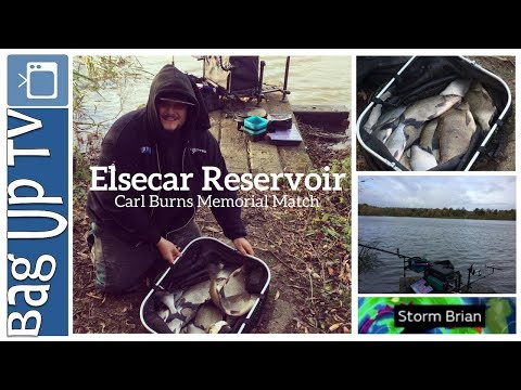 Elsecar Reservoir Carl Burns Memorial Match - Match Fishing - BagUpTV -