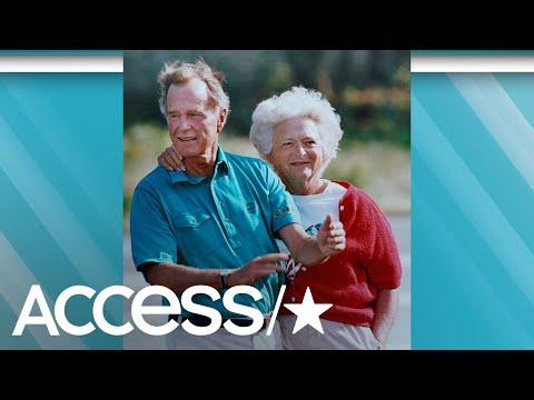 Remembering Barbara Bush: George & Barbara's Love Story | Access