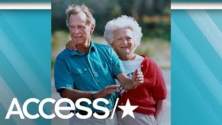Remembering Barbara Bush: George & Barbara's Love Story | Access