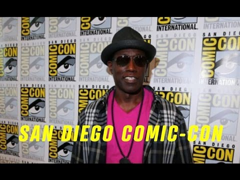 Wesley Snipes THE PLAYER Comic Con 2015 Interview
