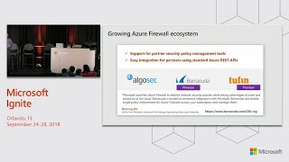 Azure Firewall and Best Practices in building an enterprise-grade DMZ in Azure - BRK4029