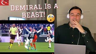 Italian Reaction to Merih Demiral l Legendary Defensive Skills 2020