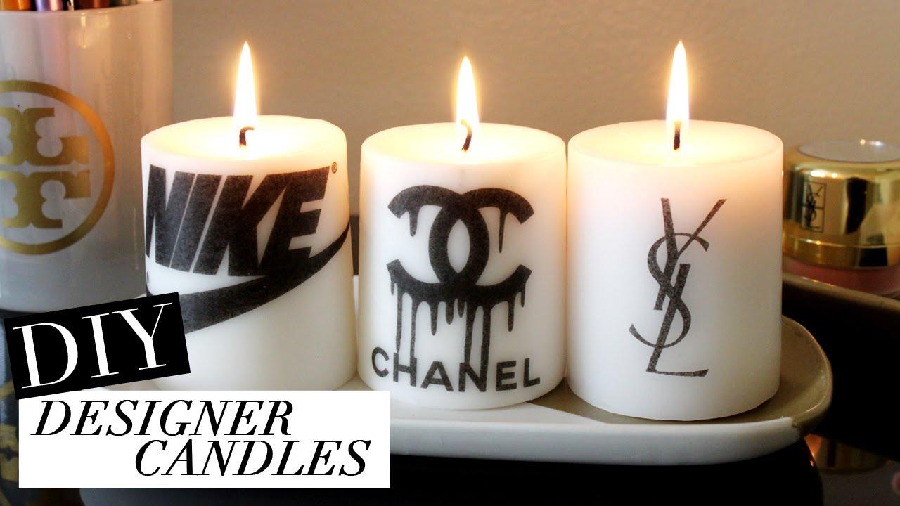 . diy designer candles  tumblr inspired  youtube