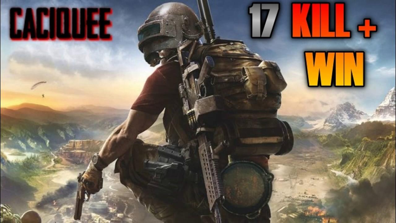 17 kill + win = squad com os spec / pubg