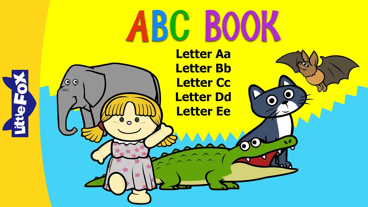 ABC Book A-E | Alphabets A-E | Phonics | Little Fox | Animated Stories for Kids