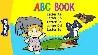 ABC Un Libro-E | Alfabetos a-E | Fonética | zorra | Historias Animadas para Niños
