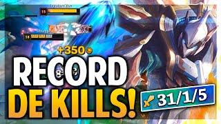¡SETT RECORD DE KILLS! 1 VS 5 IMPOSIBLE!   League of Legends