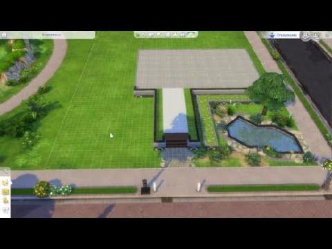 lets build die sims 4 modernes haus bauen ps4 deutsch ger youtube. Black Bedroom Furniture Sets. Home Design Ideas