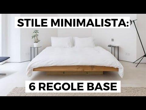 ARREDARE CASA in stile MINIMALISTA: 6 regole base