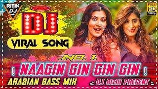 Nagin Gin Gin Dj Song🐍Tik Tok Viral Arabian Beat🔥 Mix Dj Ritik NWD