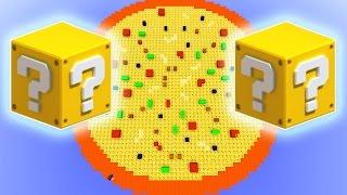 Minecraft Lucky Block Pizza Spleef Mod