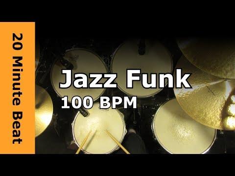 20 Minute Beat - Jazz Funk 100 BPM