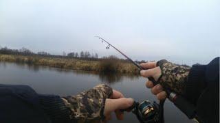 РЫБАЛКА НА РЕКЕ ПРИРОДА ПРОСЫПАЕТСЯ РЫБАЛКА НА СПИННИНГ НА РЕЧКЕ ВЕСНОЙ Рыбалка на окуня и щуку