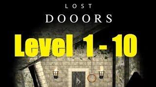 Lost DOOORS - escape game - level 1, 2, 3, 4, 5, 6, 7, 8, 9, 10