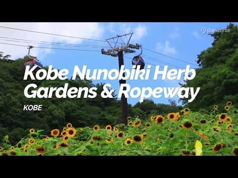 Kobe Nunobiki Herb Gardens & Ropeway, Kobe   Japan Travel Guide